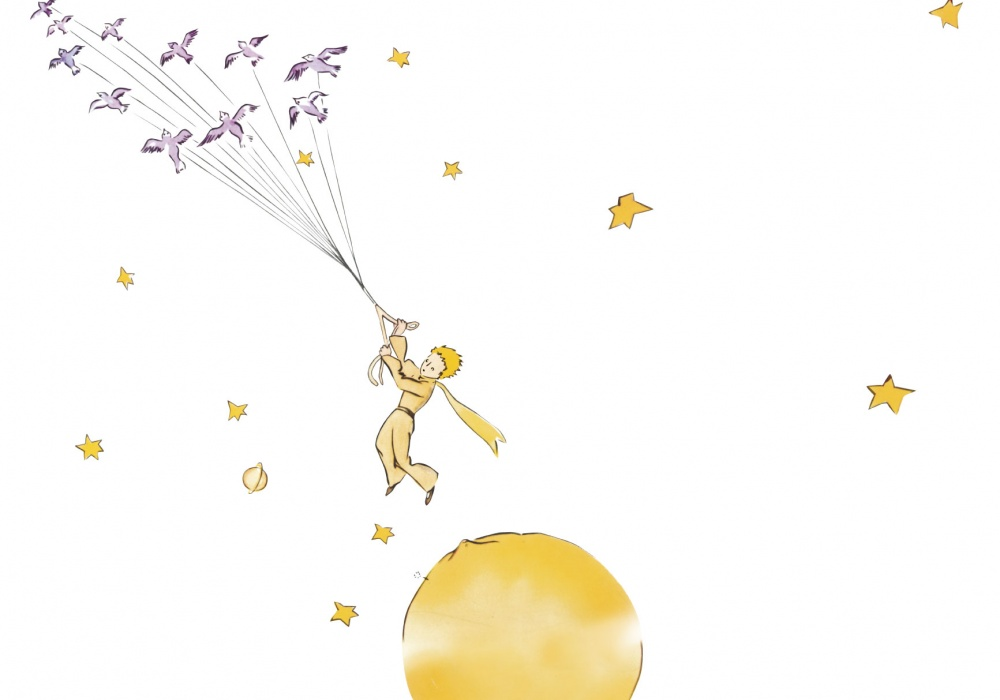 картинка звезда маленького принца