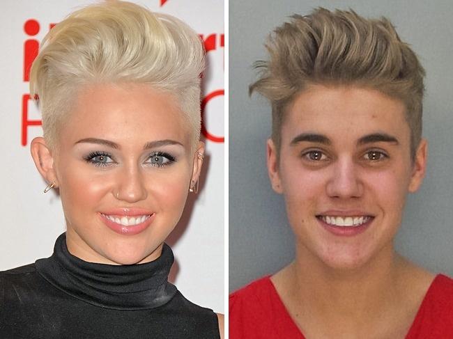 Miley Cyrus ir Justin Bieber