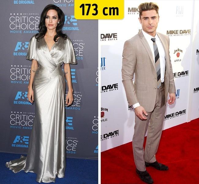 Angelina Jolie ir Zac Efron