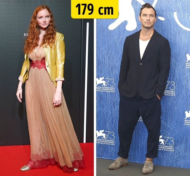 Lily Cole ir Jude Law