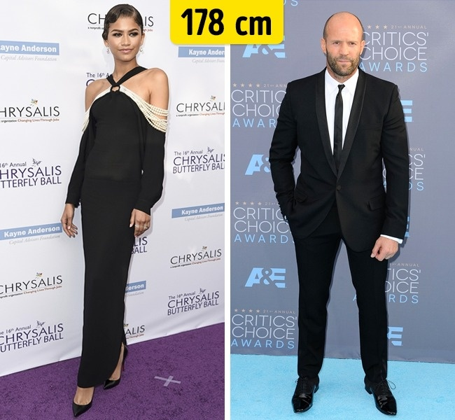 Zendaya ir Jason Statham