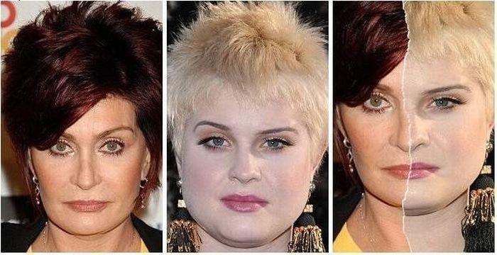Sharon ir Kelly Osbourne