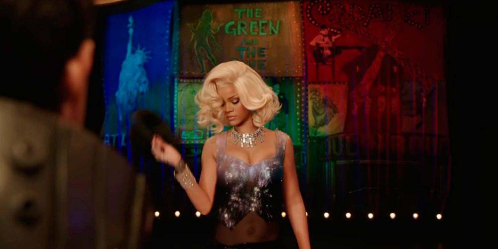 Striptizo šokėją naujame L. Bessono filme apie Valerianą suvaidinusi Rihanna paviešino įrašą iš filmavimo užkulisių