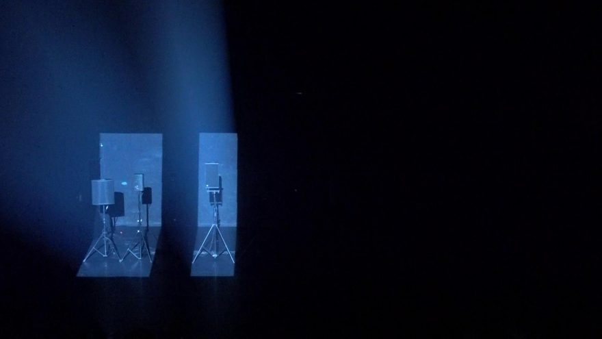 """Garso instaliacija-performansas """"Olympian Machine"""""""