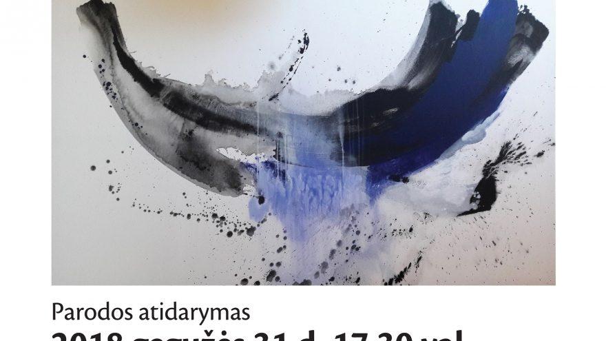"""KLAIPĖDOS GALERIJOJE pristatoma menininkės Dalios Kirkutienės paroda """"Proveržis"""""""