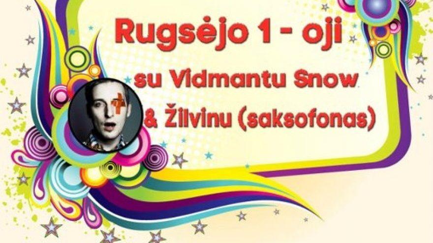 Rugsėjo 1-oji su Vidmantu Snow & Žilvinu (saksofonas)