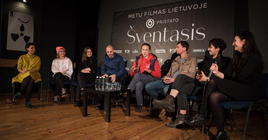 """Artėjant metų filmo premjerai: """"Šventasis"""" kūrybinė grupė apie lūkesčius bei žiūrovo poreikius"""