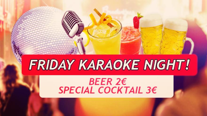 Friday karaoke party