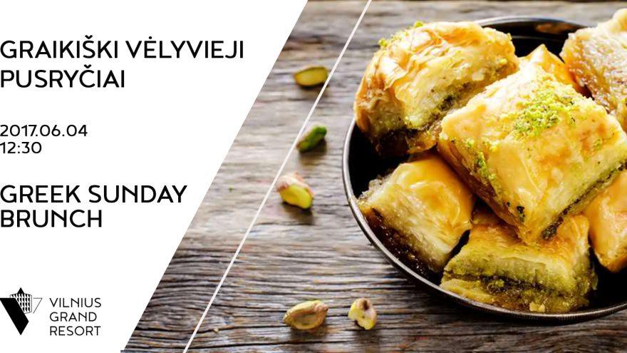 Graikiški vėlyvieji pusryčiai