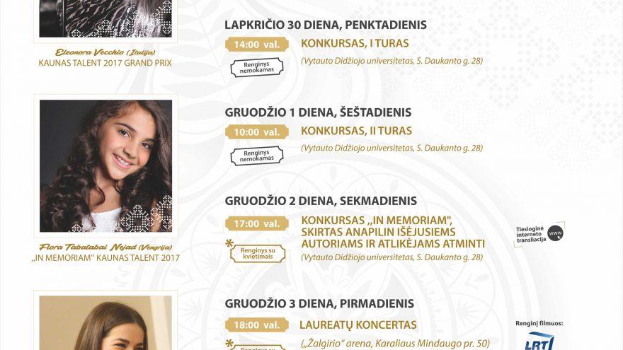 Kaunas talent 2018