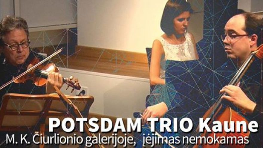 """Potsdam trio"" koncertas"