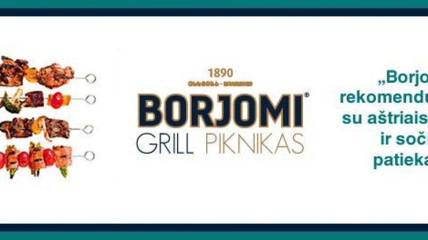 Borjomi Grill piknikas Kaune