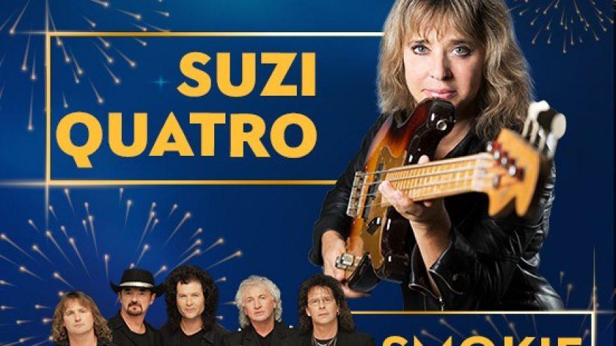 Naujametiniai koncertai su Rondo, Smokie ir Suzi Quatro   KLAIPĖDA
