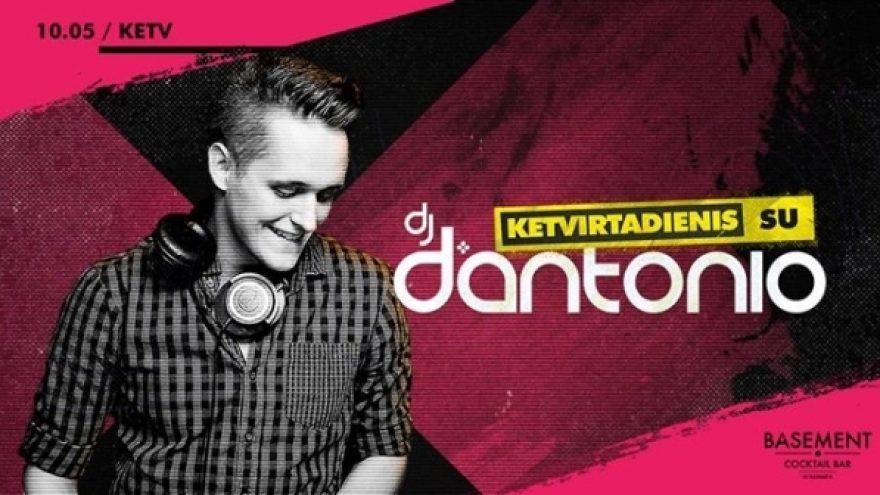 Ketvirtadienis su DJ d'Antonio