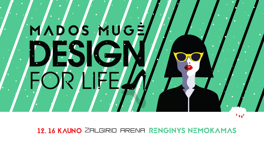 """Kalėdinė mados mugė """"Design for life"""" Kaune"""