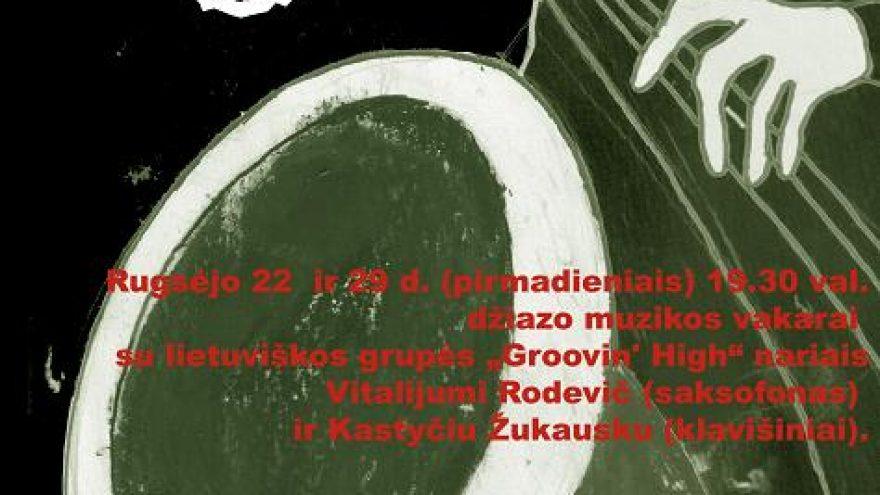 Džiazo muzikos vakaras