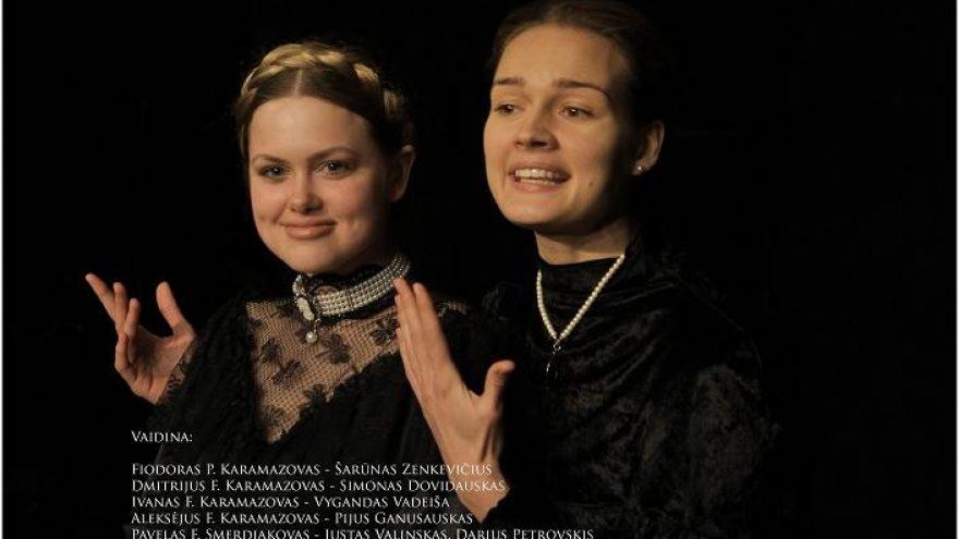 """Spektaklis """"Broliai Karamazovai"""""""