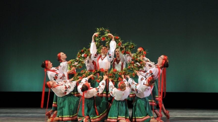 Kijevo Seržo Lifaria šokių akademijos kolektyvo koncertas