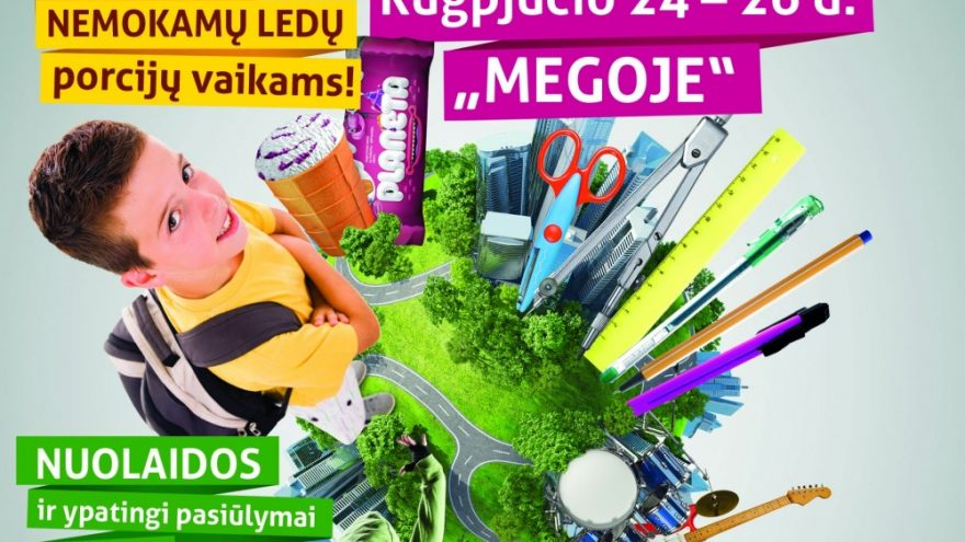 "Biplan naujo albumo pristatymo koncertas ""Megoje"""