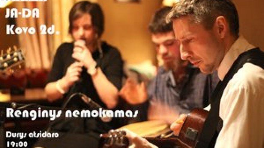 Grupės JA-DA akustinis gyvo garso koncertas