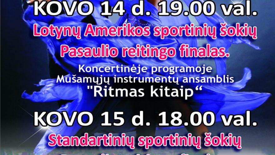 Sportinių šokių varžybos ALYTUS OPEN 2015