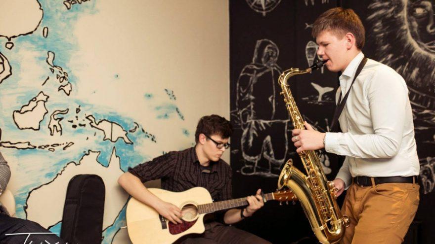 DŽIAZO TREČIADIENIS: Gitaros ir saksofono vakaras