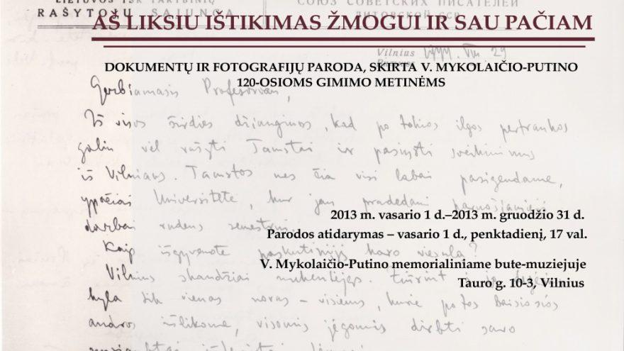 Dokumentų ir fotografijų paroda