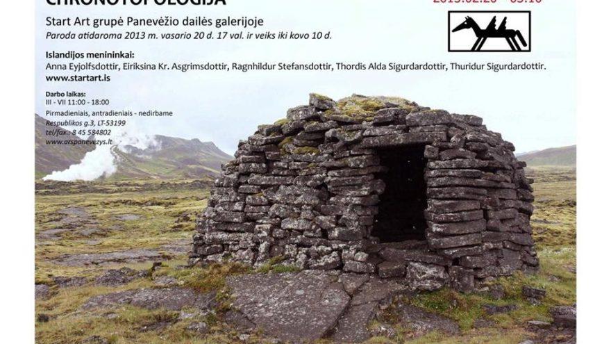 "Start Art grupės (Islandija) paroda ""Chronotopologija"""