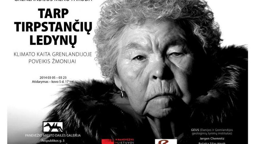 """Grenlandijos meno paroda """"Tarp tirpstančių ledynų"""""""