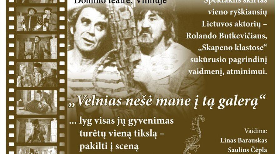 """Moljero """"Skapeno klastos""""premjera Domino teatre"""