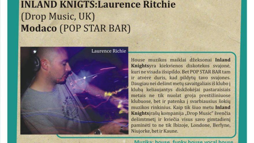 INLAND KNIGHTS @ POP STAR BAR