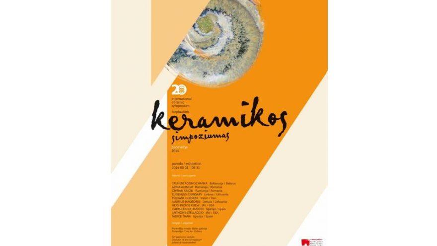 XX Panevėžio tarptautinio keramikos simpoziumo paroda