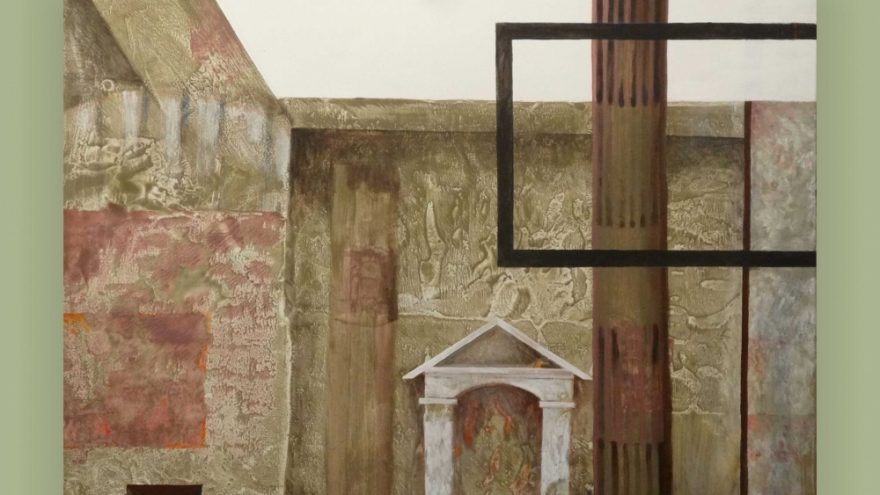 Ewa Maziak (Varšuva) tapybos paroda – Pompėjos