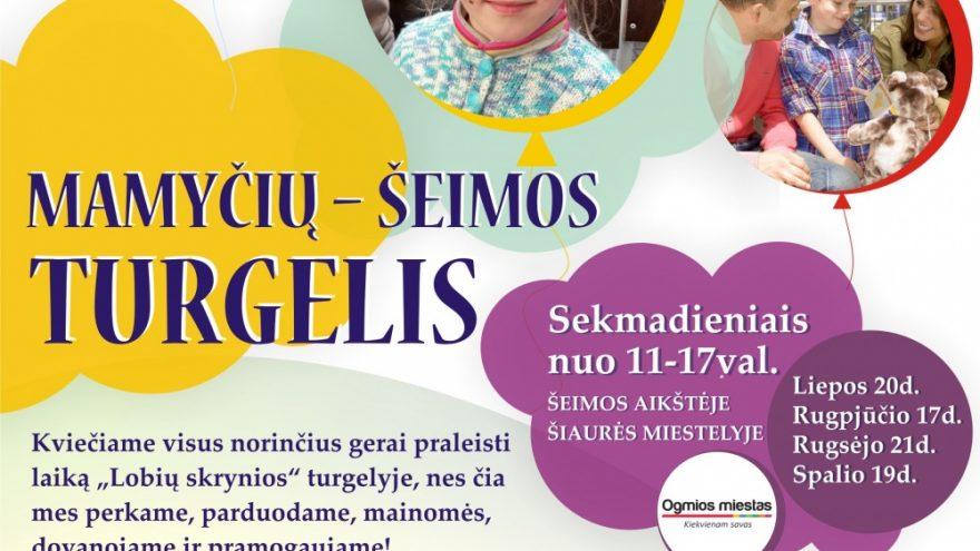 Mamyčių-šeimos turgelis Vilniuje