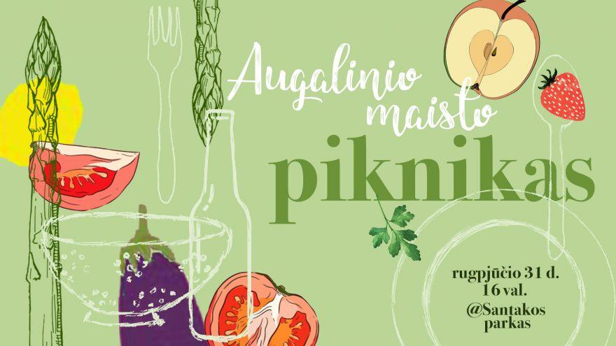 Augalinio maisto piknikas