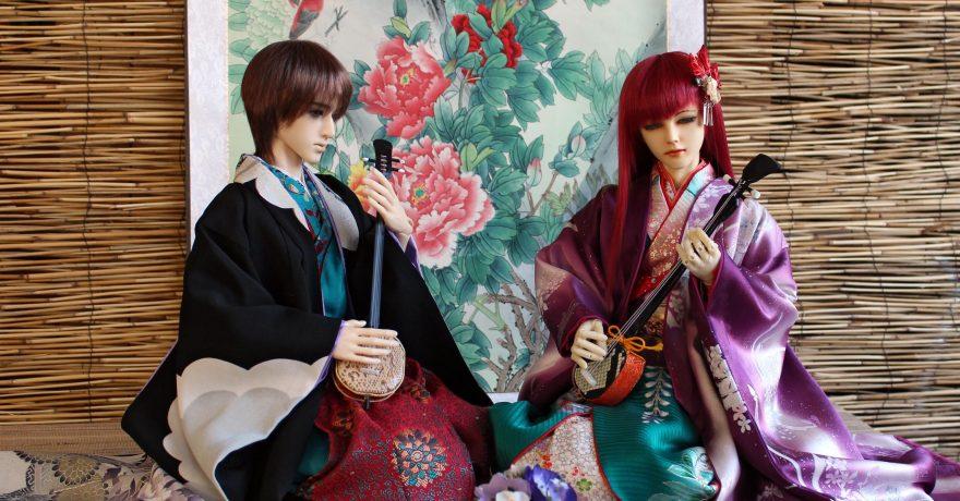 Lėlės vienai dienai įkūnys Japonijos istorinę kultūrą ir buitį