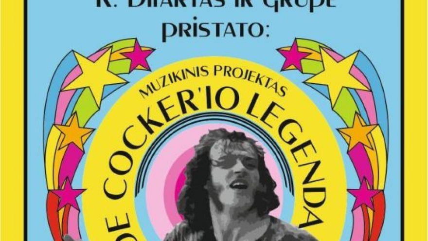 """Muzikinis projektas """"Joe Cocker'io legenda"""""""