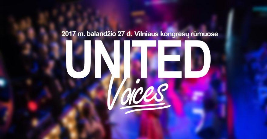 ,,UNITED voices 2017'' kviečia prisidėti prie kilnaus ,,Jaunimo linijos'' darbo tikslo
