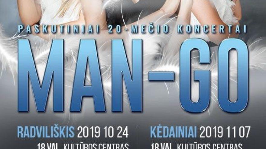 MAN-GO paskutinis 20-mečio koncertas   Kretinga