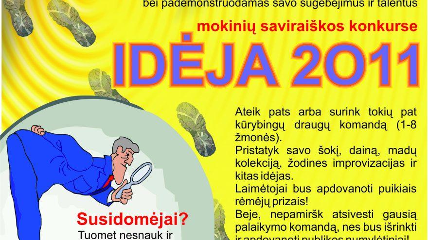 Idėja 2011