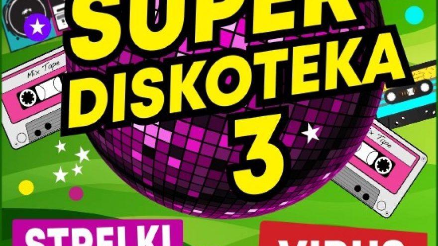 SUPER DISKOTEKA -3/ СУПЕР ДИСКОТЕКА -3 (ВИРУС, СТРЕЛКИ, 140 УДАРОВ, УНЕСЕННЫЕ ВЕТРОМ)