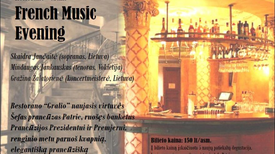 French Music Evening