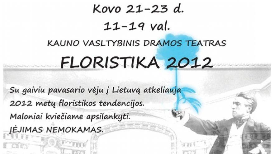Floristika 2012