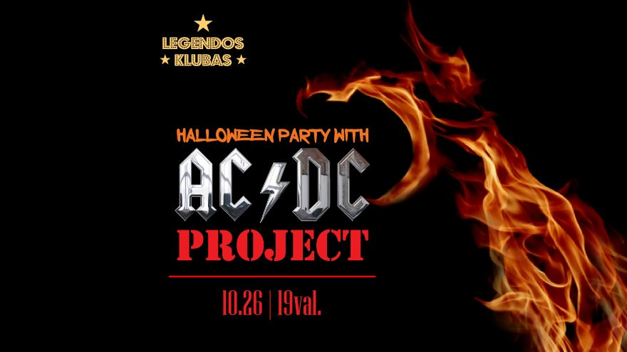 AC/DC Halloween Party with AC/DC PROJECT