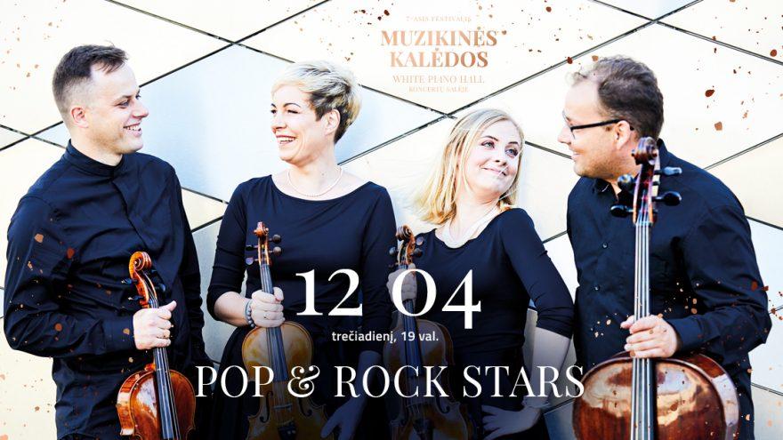 """""""POP & ROCK STARS"""" string quartett ARCHI QUARTETT"""
