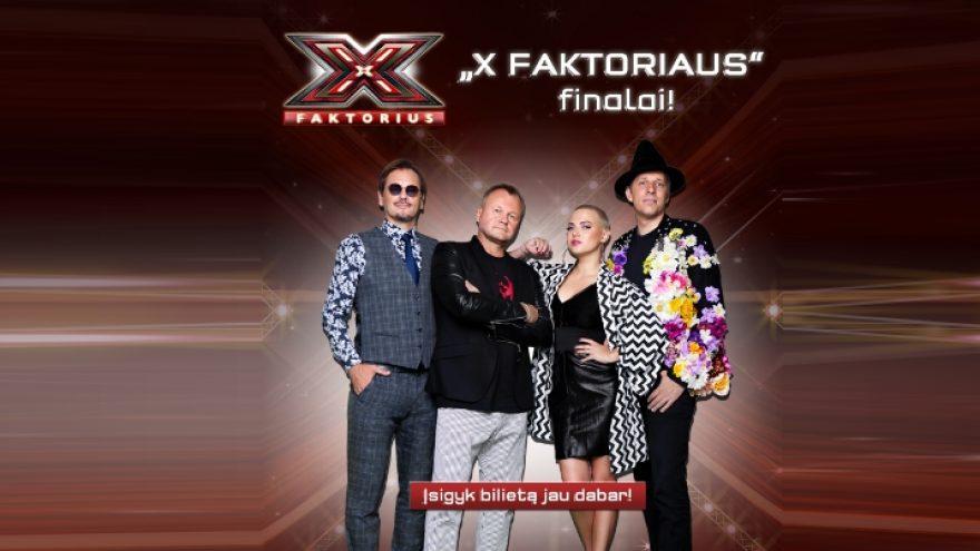 """Muzikinio projekto """"X Faktorius"""" finalai"""