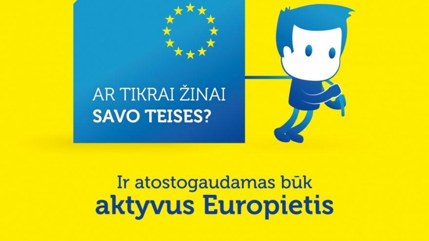 Diskusija su V.Blinkevičiūte apie ES piliečių teises