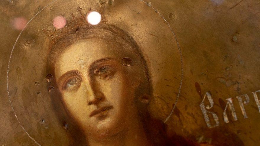 """Parodos """"Atradimai: Markučių Šv. Barboros koplyčios fasado ikonos"""" uždarymo ekskursija"""