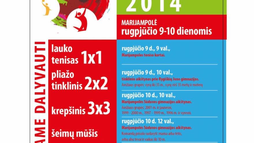 Sporto šventė 2014