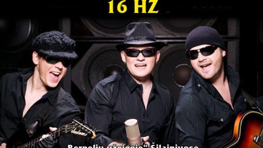 Grupės 16 Hz koncertas